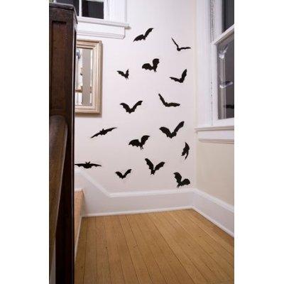 Halloween vinyl bats