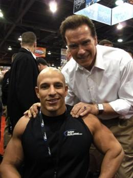 Nick Scott and Arnold
