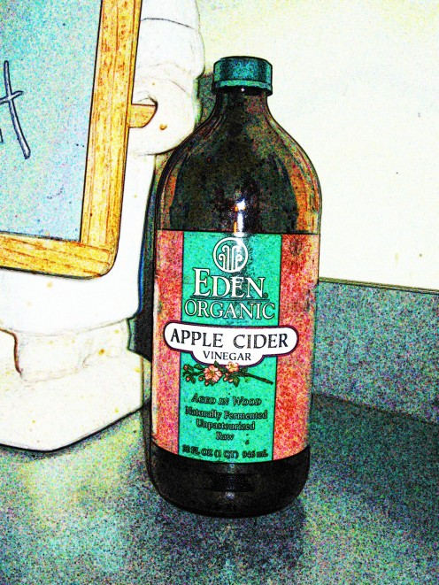 "Apple cider vinegar with the ""mother"""