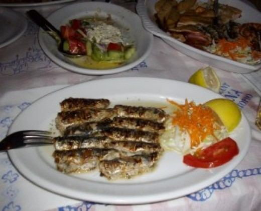 Grilled Stuffed Sardines