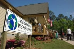 International disc golf center