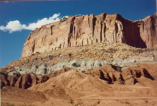 Spectacular scenery everywhere in Capitol Reef National Park