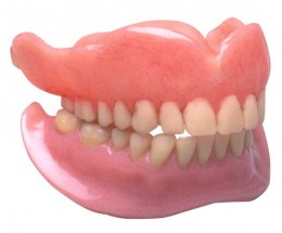 Good old fashioned dentures