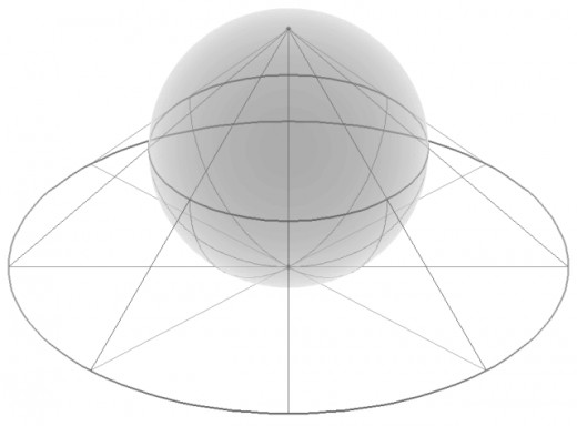 Riemann sphere. This is constructed by projection of the plane below onto a sphere, It has the useful property of reserving a point on the sphere for 'infinity'.