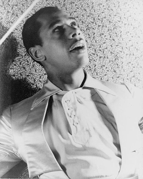 Cab Calloway, famous conductor and musician.