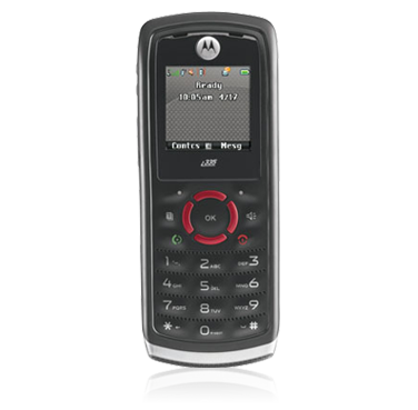 Motorola I335 Cellular Phone for Boost Mobile Prepaid Cell Phone Service