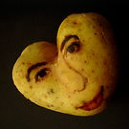 One of Ginou Choueiri's potato faces