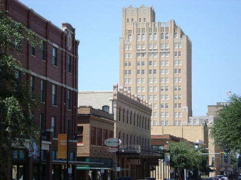 Historic Cypress Street District in Downtown Abilene
