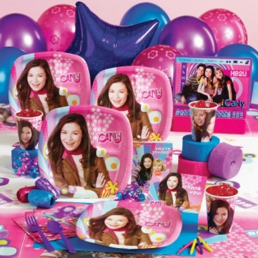 iCarly Deluxe Party Pack
