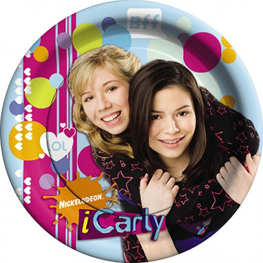 iCarly Dinner Plates - BFF Design