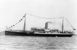 Troopship Mendi: death at sea on a cold, foggy morning