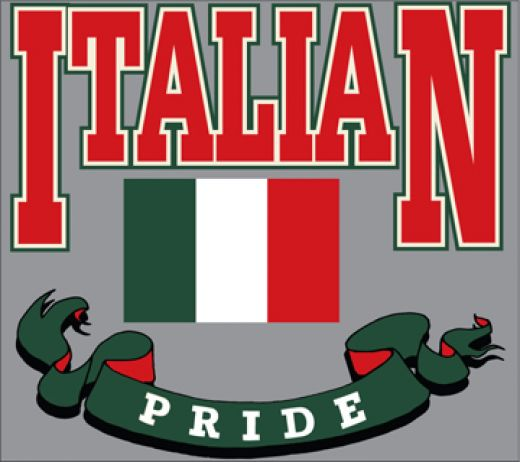 My Country My Pride and American Flags Together Italian ...