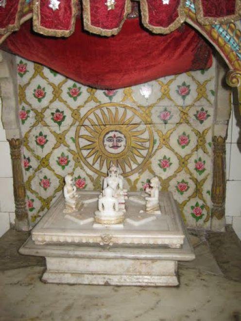 Navapada, Siddhachakra Yantra Neminath Jain Temple, Azimganj