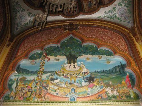 Painting of Samavasharan Mahavira Swami Jain Temple, Kolkata