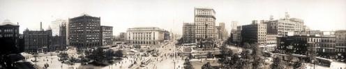 Cleveland 1912 Panorama