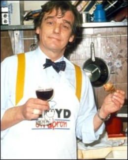 Keith Floyd when he was a little younger
