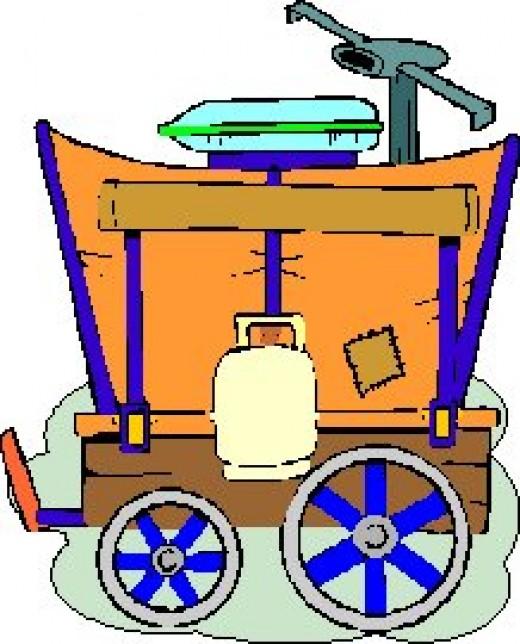 Trail Rider's Wagon