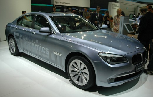 BMW is developing Hybrids for all their series... this the 7 Series