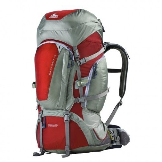 A confortable but a little heavy backpack: Gregory Baltoro 70
