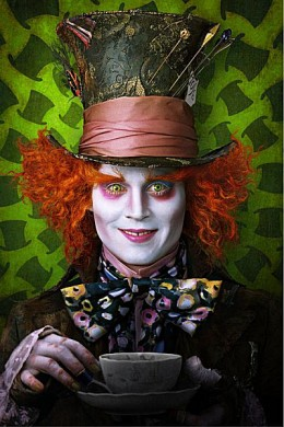Johnny Depp As The Mad Hatter (Alice In Wonderland)