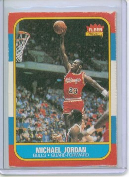 One of the most expensive trading card collection is that of Michael Jordan's