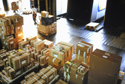 You will never see the warehouse that your products are sent from when you dropship your products to your customers.