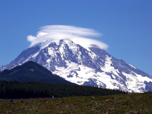 Mt. Ranier in Washington.