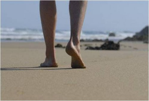 Your feet spend 16 hours a day encased in shoes at a high temperatures resulting in cramped swollen and fatigued feet. When at home walk barefoot regularly to give your body a good workout by stimulating the reflexes.