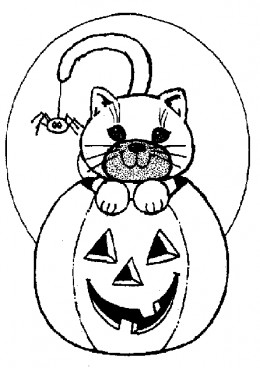 Halloween Zombie Kids Coloring Pages Free Colouring Pictures to Print-and-Colour - Pumpkin Decorations