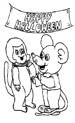 Halloween Zombie Kids Coloring Pages Free Colouring Pictures to Print-and-Colour -  Cuddly Mouse