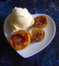 How to make easy baked peaches dessert recipe