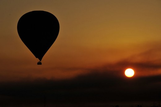 Beautiful hot air balloon ride (Photo credit: Wikipedia Commons)