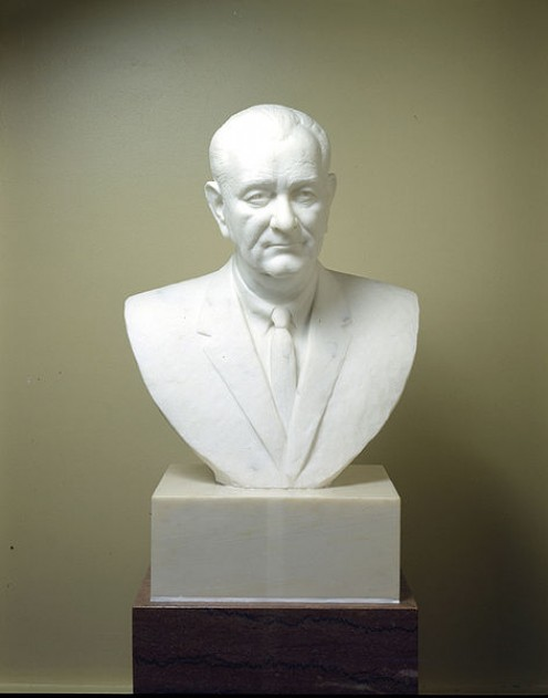 Lyndon Johnson Bust