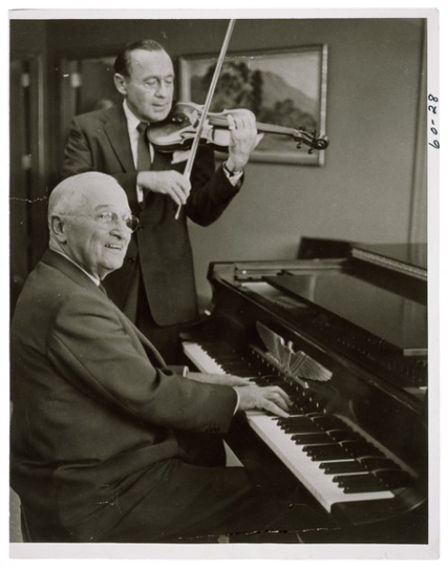 Jack Benny and President Harry Truman