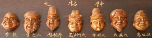 The Seven Gods of Fortune in Chinese History