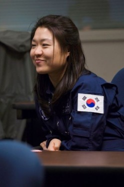 Yi So-yeon, the first Korean on the ISS. The South Korean Space Agency KARI developed a special Kimchi for her to eat.
