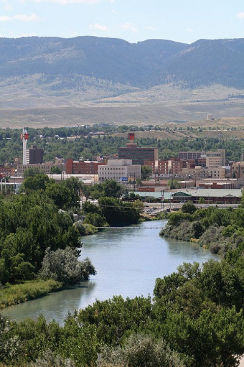 Casper Wyoming, home of Native Americans and Pioneers.