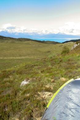 Looking towards Isle of Skye