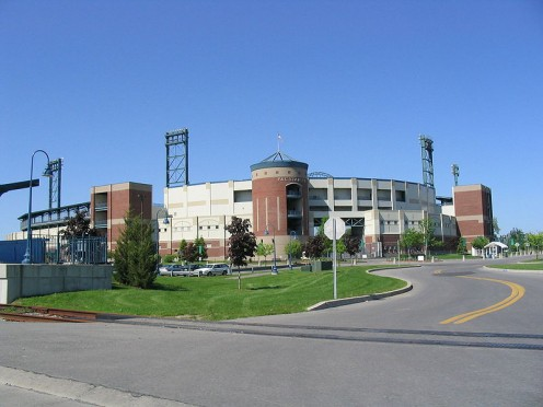 Alliance Bank Stadium in Syracuse, NY (photos this page public domain)