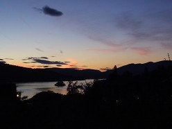 Lake Windermere at dusk