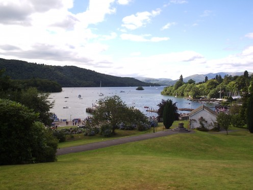 Lake Windermere by day