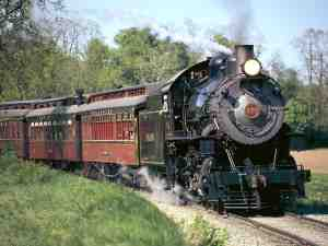Strasburg Railroad - oldest shortline railroad in the nation.
