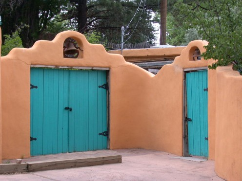 Sante Fe, New Mexico - Doors