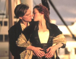 A still from the movie Titanic