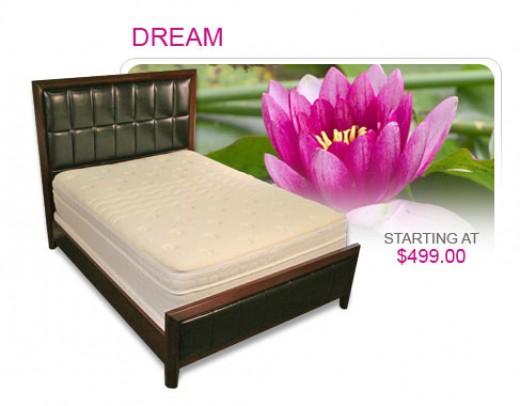 an example of a good memory foam bed from http://www.A1mattress.com
