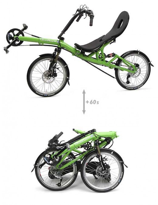 "HP Velotechnik ""Grasshopper"" Bicycle"
