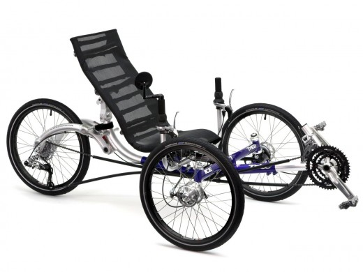 Inspired Cycle Engineering Recumbent Trike