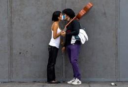 Protective Kiss