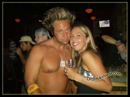 Jeff Reed needed a drink after missing two FG's that cost the Steelers the game.