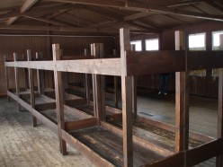 Mauthausen Concentration Camp Or Mauthausen Konzentrationslager - Inside Barracks